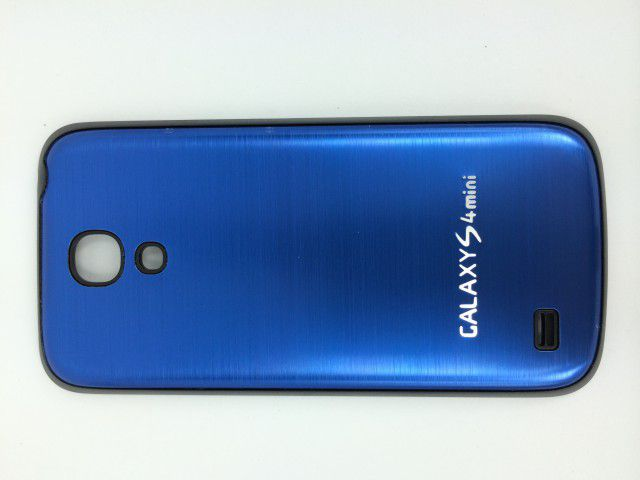 Задняя крышка Samsung i9190/i9195 Galaxy S4 mini металл синий
